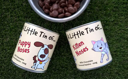 Little Tins with Sweets